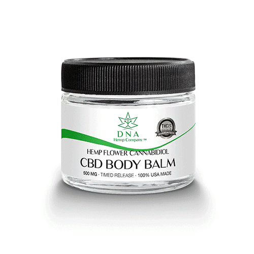 100% usa made dna flower cbd healing body balm
